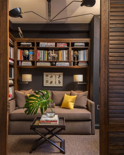 Home Den Design Ideas by How To Make Room For An Office In A Small Space In 2019