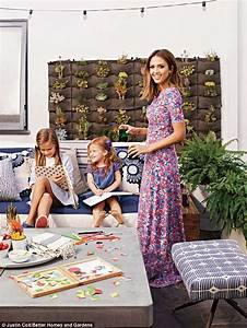 Jessica Alba opens to the doors to her family home for ...