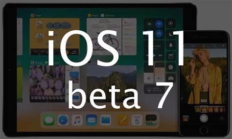 apple udostępnia ios 11 beta 7 lista zmian thinkapple