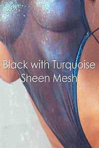 Mesh Design Colleen Designs Swimwear Sheer Halter Tank Monokini