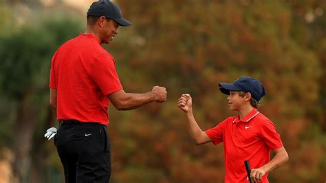Tiger and Charlie Woods 'iconic' double act | PNC ...