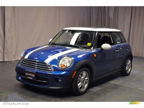 Mini Cooper Blue Edition Picture by 2013 Lightning Blue Metallic Mini Cooper Hardtop 72245441
