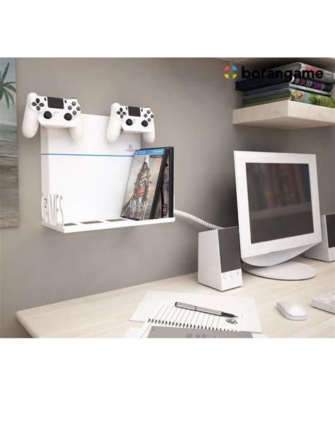 mount ps4 under desk borangame gamespiderswap ps4 wall mount desk organizer
