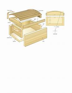 Wooden Plans Chest PDF Woodworking