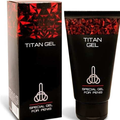 titan gel big penis enlargement jelqing gel 3x50ml