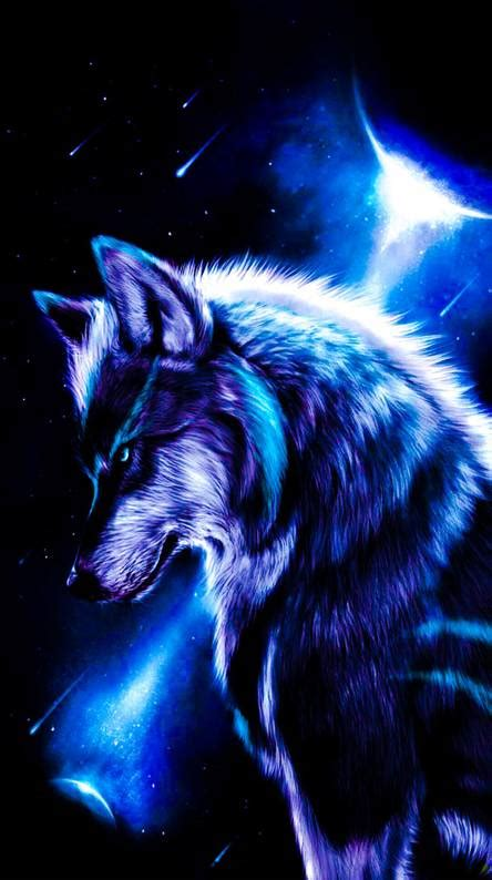 blue wolf wallpapers free by zedge