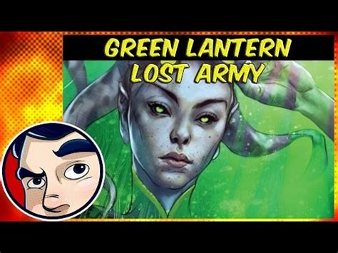 green lantern lost army complete story yourepeat