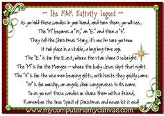 christmas  pinterest nativity advent calendar