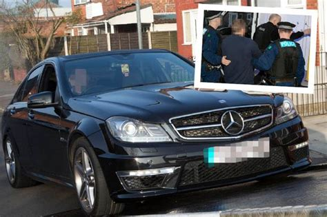 Police Seize Top Of The Range Bmw And Mercedes During