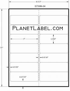 avery labels 5162 templateavery easy peel white inkjet With avery 5962 template