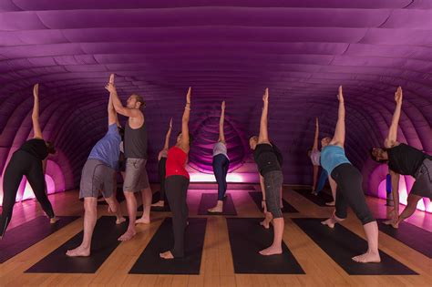inflatable yoga studios pop  yoga