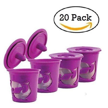4.7 out of 5 stars 297. Reusable Keurig Coffee Filter, Refillable K Cup Pod - 20 Capsules - Walmart.com