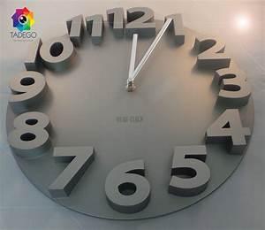 Wanduhr Silber Modern : meidi clock 3d design wanduhr silber modern ~ Whattoseeinmadrid.com Haus und Dekorationen
