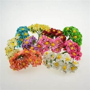 achetez en gros jaune bouquet en ligne a des grossistes With decoration de bassin de jardin 16 marguerite bouquet fleur artificielle