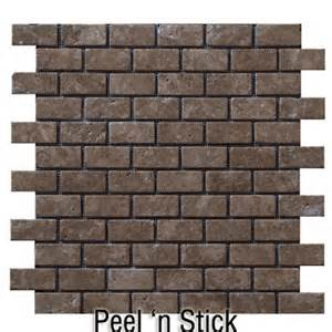 peel and stick groutless tile backsplash peel stick backsplash things to make