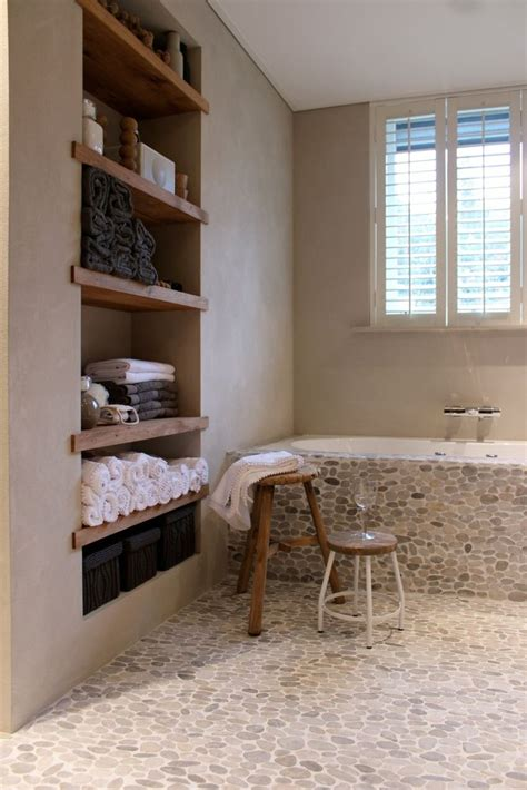 rustic bathtub tile surround bathroom home decor interior design rustic