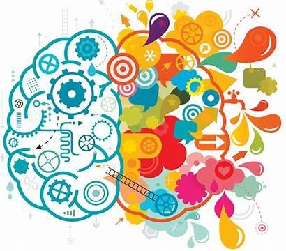 Creative Brain Left Boss Listen Vector Illustration