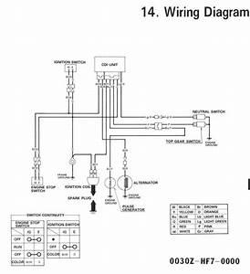 2002 Honda Trx 90 Wiring Diagram
