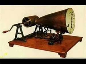 first recorded sound - YouTube