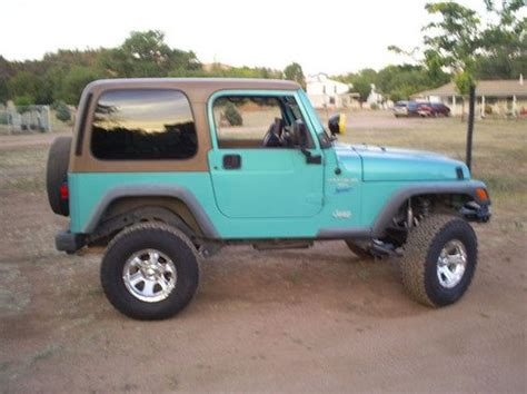 Jeep Wranglers Jeeps And Teal On Pinterest