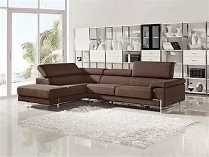 Modern, Brown, Sectional, Sofa, Vg316