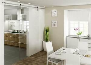 Schiebetür Glas Küche : schiebet r zwischen k che und wohnzimmer 25 tipps ~ Sanjose-hotels-ca.com Haus und Dekorationen