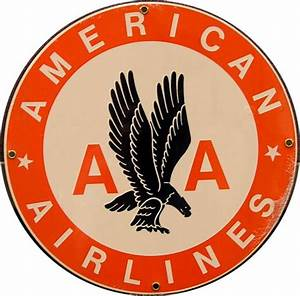 American Airlines had changed their logo over the years ...