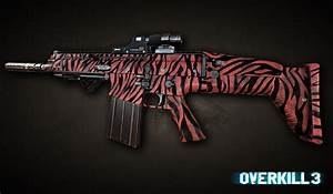 Red Tiger Camo Stencil