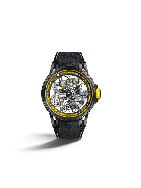 roger dubuis dares to be and races with pirelli