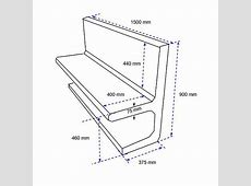 typical bench dimensions 28 images bench seat