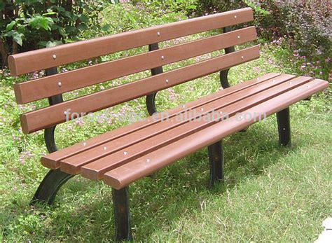 Used Park Benches Wood Park Bench Plastic Modern Park