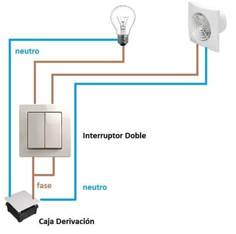 como poner un interruptor a un extractor de aire para ser independiente de la luz ba 241 o