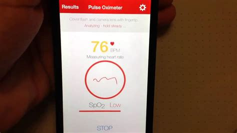 Pulse Oximeter iPhone App Review - YouTube