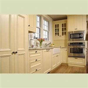 Painted cream cabinets images solid wood kitchen cabinet for Kitchen colors with white cabinets with american flag wood wall art