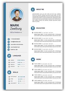 free modern resume template docx format 3 free resume templates for microsoft word