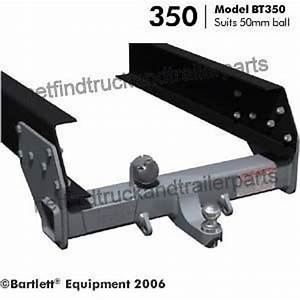 Tow Hitch To Suit 50mm Ball  3500kg  Coupling Tow Bar
