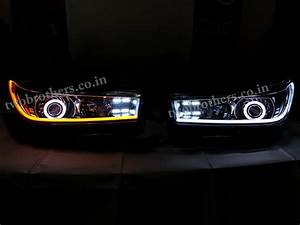 Innova Crysta Projector Headlights With Drl