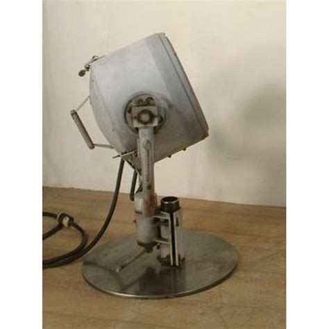 Large Antique Spotlight General Electric Searchlight