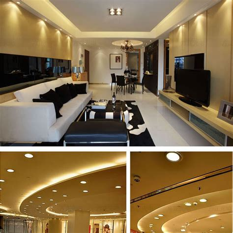 Led Lights Around Room Ceiling by 4w Square Led Recessed Ceiling Panel Light L Ultra