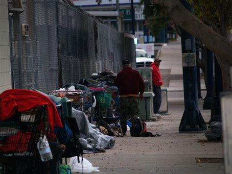 homeless wake  early     downtown san