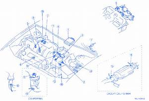 Mazda 626 2003 Engine Electrical Circuit Wiring Diagram