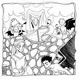 Coloring Adult Dark Seamstress Pages Lord Story Darkest Romance Devil Milk sketch template