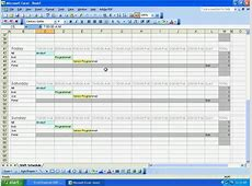 Sobolsoft com How To Use Excel Employee Shift Schedule