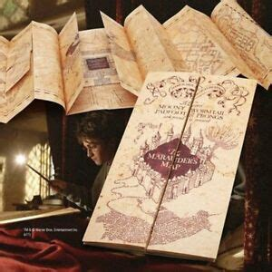 official harry potter marauders map authentic replica