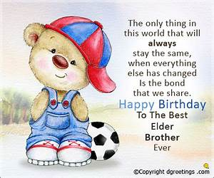 Birthday Message for Brother, Birthday SMS & Wishes for ...