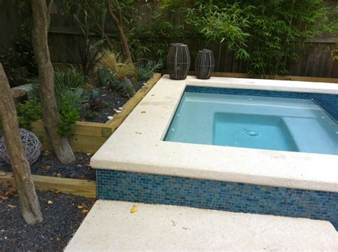 Npt Pool Tile Arctic by Poolside Contemporary Pool Houston By Jackie Impey