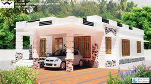 style home design 1250 sq ft kerala modern style home design