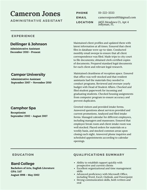 Best Format For Resume 2017 by Best Resume Templates 2017 Resumes 2017
