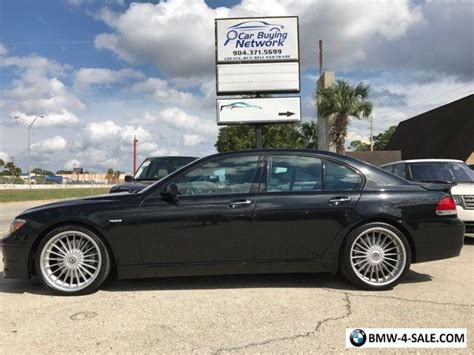2008 Bmw 7-series Alpina B7 For Sale In United States
