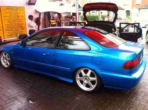 Honda Civic Coupe 1.6 Modified Candy Paint Slammed Custom